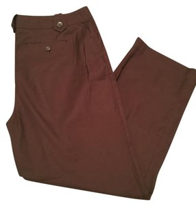 Charter Club Trousers Straight Pants brown