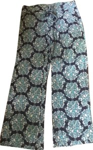 Lilly Pulitzer Relaxed Pants Blue and white
