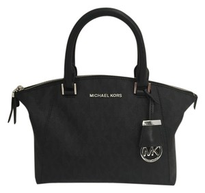 Michael Kors Riley New Removable Strap Reciept Satchel in Black