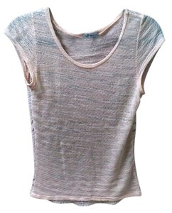 Charlotte Russe Top Pink/White
