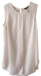 The Limited Silk Tank Top White