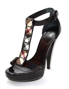 Burberry Pumps T-strap Sandals