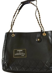 Chanel Vintage Vintage Tote in black