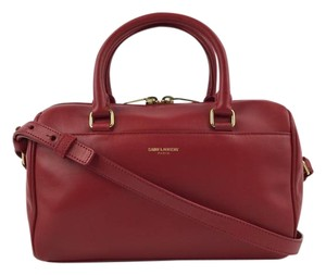 Saint Laurent Laurant Ysl Satchel in Red