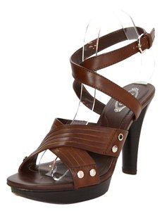 Tod's Leather Strappy Sandals