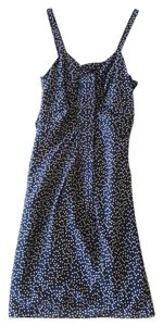J.Crew short dress Navy Silk on Tradesy