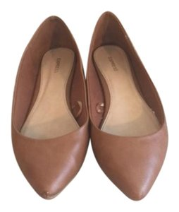 Express Brown Flats
