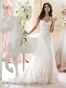 David Tutera For Mon Cheri 215267 Wedding Dress