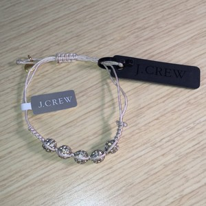 J.Crew Crystal Disco Friendship Bracelet