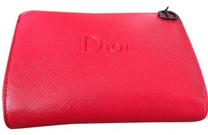 Dior DIOR RED COSMETIC BAG