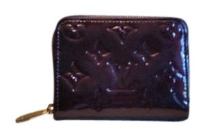 Louis Vuitton Louis Vuitton Amarante Vernis Zippy Coin Purse