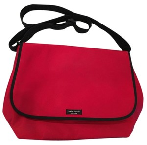 Kate Spade Nylon Red Messenger Bag