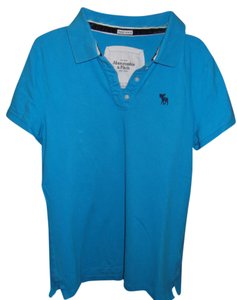 Hollister Polo Top Blue