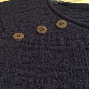 Lucky Brand Buttons Sweater
