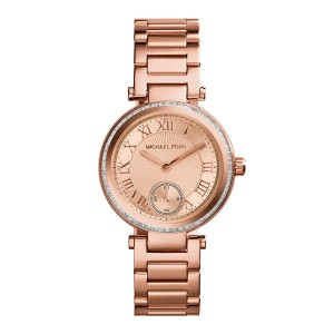 Michael Kors Women's Mini Skylar Rose Gold-Tone Watch 33mm MK5971