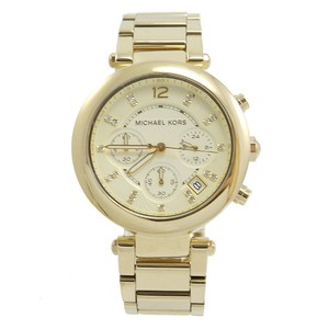 Michael Kors MK5276 Women's Chronograph Parker Gold-tone Bracelet Watch
