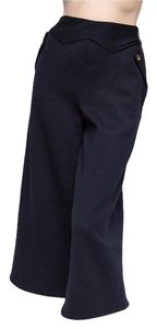 Marc by Marc Jacobs M1112630 Nwt Heavy Lined Winter Wide Leg Pants Blue