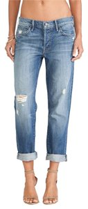 Mother Boyfriend Cut Jeans-Distressed