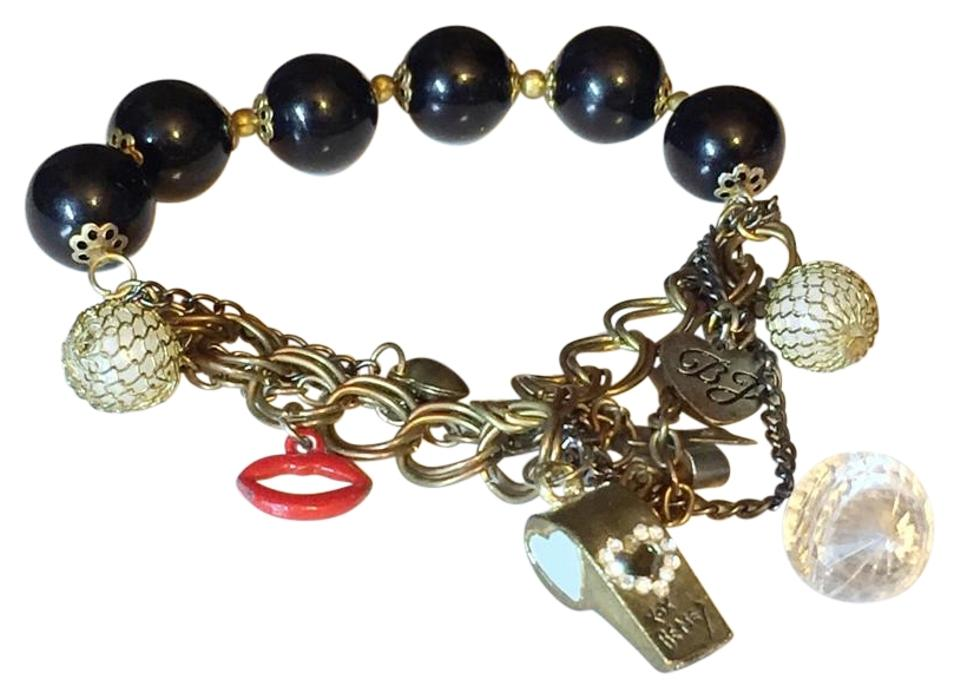 Betsey Johnson Charm Bracelet Adjule