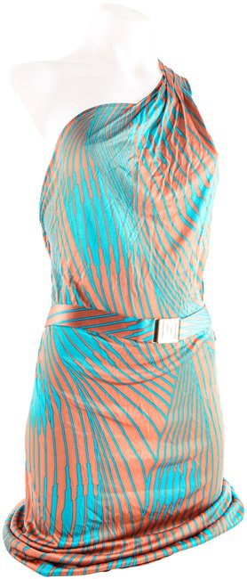 Item - Multicolor Gianni Mid-length Night Out Dress Size 8 (M)