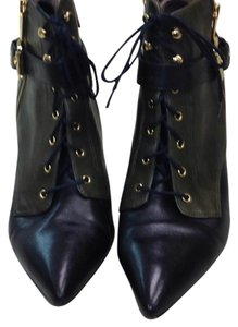 Michael Kors Black & green Boots