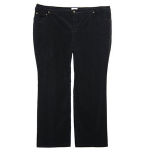 Charter Club Straight Pants Black