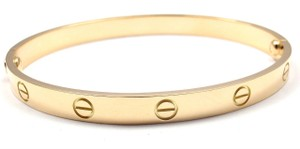 Cartier Cartier Yellow Gold Love Bracelet