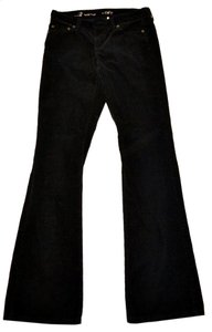 Ann Taylor LOFT Corduroy Boot Cut Pants black