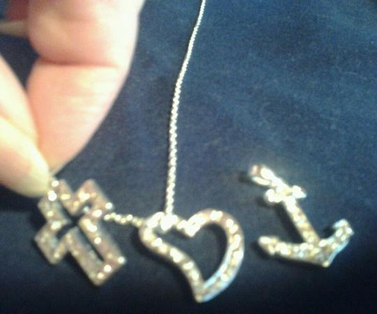 Preload https://item2.tradesy.com/images/avon-silver-faith-hope-love-interchangeable-charm-18-silvertone-chain-necklace-1950426-0-0.jpg?width=440&height=440