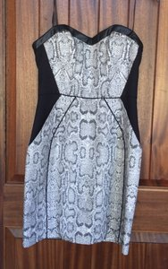 A.B.S. by Allen Schwartz Snakeskin Dress