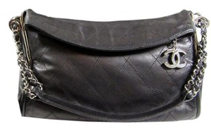 Chanel Lambskin Lambskin Hobo Bag