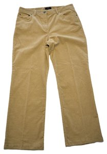 Brooks Brothers Corduroy Tan Size 12 Leg Straight Pants