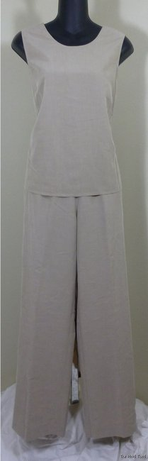 Appleseed's Appleseed's Petites Light Tan 3-pc Pants Suit PM