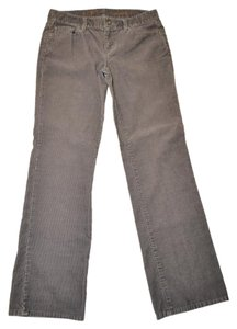 Ann Taylor LOFT Boot Cut Corduroy Boot Cut Pants Gray