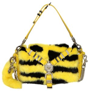 Versace Mink Fur Shoulder Bag