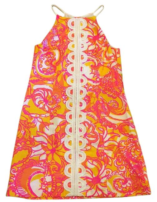 Lilly Pulitzer Sunshine Yellow Sea And Be Seen Annabelle Dress