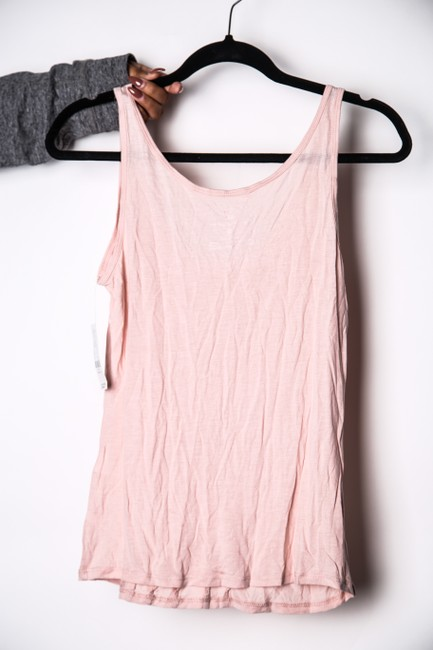 New York & Company Co Ruffles Top Blush Pink Image 1
