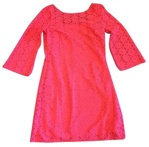 Lilly Pulitzer short dress Island Coral on Tradesy
