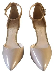 Jessica Simpson Patent Pump Nude Pumps