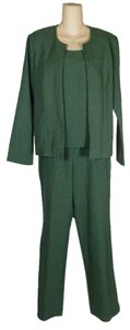 R&K Originals R&K Casual Green Summer Pants Suit 6