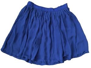 Joie Marine Waist Cheer Skirt Cobalt Blue