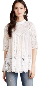 ZIMMERMANN Iro Dvf Tory Burch Top White