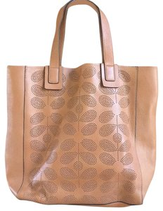 Orla Kiely Tote in Brown Whiskey