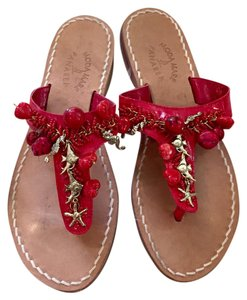 Other Red & gold Sandals