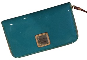 Dooney & Bourke Aqua Color - Dooney & Bourke Wristlet/Wallet