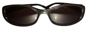 Gucci Gucci Vintage Oval Signature Sunglasses 55/16 w/ Hard case