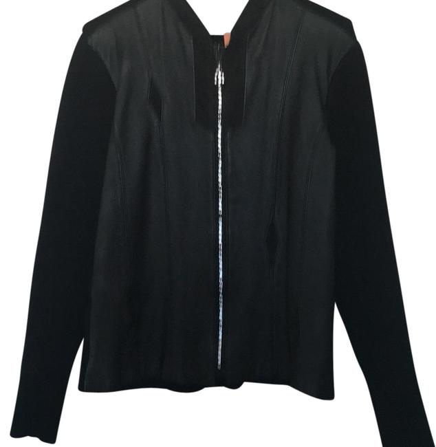 Preload https://item1.tradesy.com/images/black-night-out-sweater-motorcycle-jacket-size-10-m-19505160-0-1.jpg?width=400&height=650
