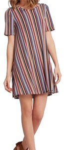 BCBGeneration short dress Multi-Colored Stripe. on Tradesy