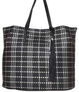Vince Camuto New With Tags Nwt Tote in Black / Pale Gold Metallic