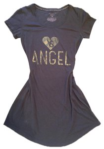 Victoria's Secret short dress Grey Nightgown T-shirt on Tradesy